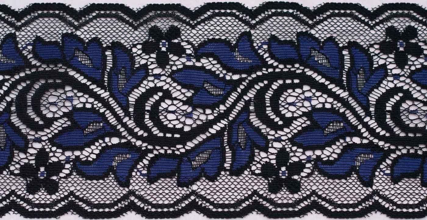 Schwarz-blaue Stulpen von House of Wolf