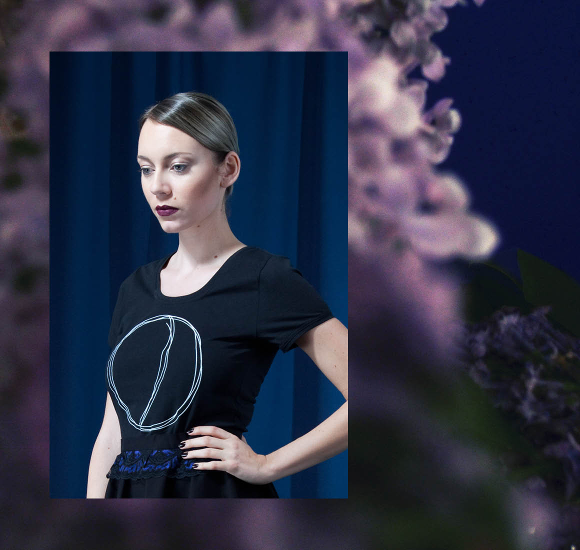The Moon and his Flowers by Fairfashionlabel House of Wolf